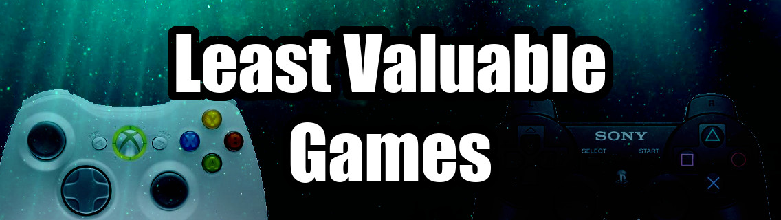 Top 10 Least Valuable Games in my Collection